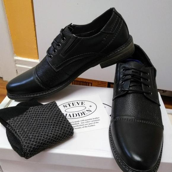 9fd79c46fe7 STEVE MADDEN Men's Tabloid Oxford Shoes - NEW NWT